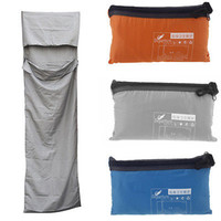 Wholesale cm Ultra light Portable Single Sleeping Bag Liner Polyester Pongee Healthy Outdoor Camping Travel Blue Orange Grey