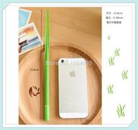 Wholesale 100pcs Grass blade pen leaf Ball point pen creative cute novelty Korean stationery order lt no track