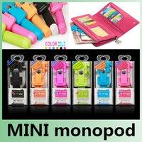 Wholesale Handheld Mini Monopod Tripod Pen Pocket Extendable Portable Wired monopd Super Supreme RK mini3 For Phones Gopro