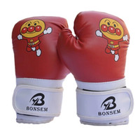 Wholesale Child MMA boxing gloves muay thai kids boxing mitts Junior taekwondo training gloves guantes de boxeo luva de boxe