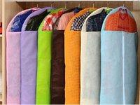 suit cover suit bag garment bag - Home Dress Clothes Garment Suit Cover Zipper Bags Dustproof Storage Protector size S M L