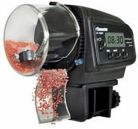 Wholesale New LCD Display Auto Fish Feeder Easy to Use Aquarium Tank Fish Food Automatic Black Timer Feeding
