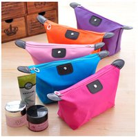 Wholesale Waterproof Zipper small Cosmetic Makeup Bag cosmetic pouch women s organizer bag handbag travel storage bags DHL