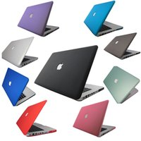 Wholesale HOT Rubberized Fosted Matte Transparent Rubberized Cover Case For Macbook Mac Book Air Pro Retina inch Protective Shell