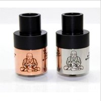 air fittings brass - 2015 Zephyr Buddha RDA Atomizer fit E Cigarette Mods colors black ss copper brass white with Air Holes thread DHL Free