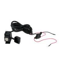 adaptor cigarette lighter - WUPP V V Motorbike Motorcycle Cigarette Lighter phone charger V USB Power Port Adaptor Outlet Socket Charger DHL K3173