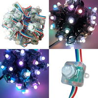 Wholesale Square WS2811 LED Pixel Module String Diffused Individually Addressable RGB Full Color Waterproof IP68 DC5V