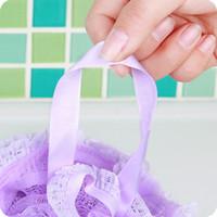 bath shower pump - Beauty For Buffet Buffet Travel Pump Bottle Lace Bath Cotton Korea Large Multi Bubble Hanging Flower Shower Take A