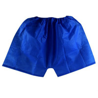 disposable underwear - Mens Underwear Boxers Non Woven Disposable Sauna Shorts Underwear Men Massage Spa Travel Clothing WS0096 Kevinstyle