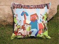 Wholesale One Pieces cmx45cm Minecraft Cushion Cover Dropship Home Decor Hot Design
