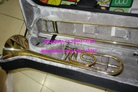 best trombones - Best Selling Advanced Gold Trombone F Bb tone HIgh Musical instruments