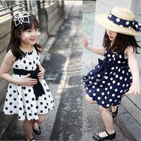 kids clothes high quality - Coco baby One New summer Children clothing high quality girls dresses for y baby girls wave point dress kids wear