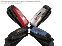 Wholesale Interior Accessories Glasses Case Car Glasses Holder Car Card Paper Clamp Plastic Black Blue Red Silver set