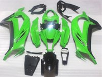 abs tnt - 3 Gifts Christmas ABS Injection Mold Fairings Kit For kawasaki Ninja ZX10R r Bodywork Cool green TNT