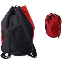 baseball player bags - Taekwondo player bag Kickboxing sport backpack Black red Waterproof exercise cinch Free combat club drawstring case