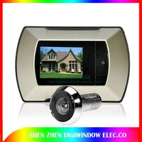 Wholesale Wireless quot LCD Display Digital Peephole Door Viewer Camera Electric Door eye Kit