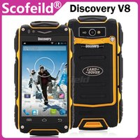 android 4.0 phone - Discovery V8 MTK6572 Dual Core Inch Waterproof Android Cell Phone Smartphone Dual Cameras Android