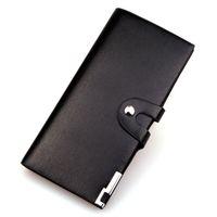 bi bags - Wallet men business long bi fold men s Velcro wallet clutch bag Korean wave men bags man bag wallet card package