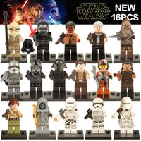Wholesale Star War The First Order Finn Rey Chewbacca Rebel Stormtrooper Shadow Storm Trooper Minfigure Chindren Gift