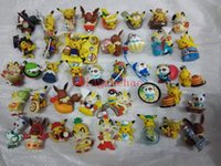 anime mini figure girl - Hot Sale Pack Anime Catoon Pikachu Cute Mini dolls PVC Action Figure Collectible Model Toys Girls Boys Children s Gift