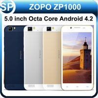 Cheap ZOPO ZP1000 MTK6592 Octa Core 1.7GHz Android 4.2 5.0 inch 1280*720 1GB RAM 16GB ROM 5.0MP 14.0MP Dual Camera SIM 3G Smart Mobile Cell Phone
