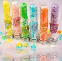 Wholesale 1PCS Stylish Body Benefits Bubble Bath Tube Confetti Foaming Soap Random Color