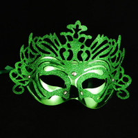 arts and crafts activities - Lovely Masquerade Masks Pce A New Face Mask Mixed Colors Plastic Halloween Decorations Activity Arts And Crafts Funny Styling