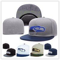 Wholesale Seattle Baseball Cap Thousands Style Hat For Men Cheap Seahawk American Football Fitted Hat Women Sport Hats Mix Order