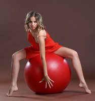 yoga ball exercise ball - New CM exercise yoga ball Thick explosion proof genuine Yoga pregnant women slimming maternity fitness yoga ball