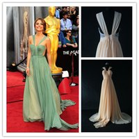 Cheap Elegant Sheer Chiffon Gowns Evening Dresses Real Pictures rendas vestido de Open Back Prom Party Gowns 2014 New Fashion