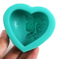 best quality roses - 2015 New arrival Hot sale best quality New Silicone Roses Flower Style Cake Molds Tools x7 x3 cm Free Drop Shipping ZH0