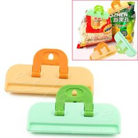 Wholesale Plastic Strong Food Bag Clip Seal Clip Sealing Food Kitchen Tool Reuseable