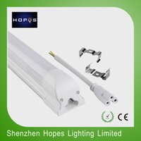 Wholesale 25 X W W mm integrated led t5 T8 tube with bracket ft fluorescent lamp SMD2835 high brightness Ra