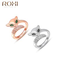 beryl jewelry - ROXI new arrival k gold beryl sexy eye fox crystal wedding engagement party ring for women fashion jewelry