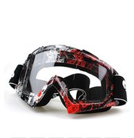 Wholesale 2015 New Arrived Google Motor Goggles Bike Cross Flexible goggles Tinted UV fashion goggle motorcycle glass