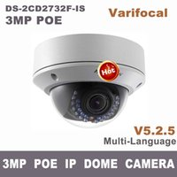 Wholesale DS CD2732F IS ds cd2732f i s MP varifocal zoom IP dome camera cctv POE outdoor cam video surveillance camera cd2732f is