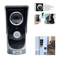 Wholesale HD P Wifi Doorbell Camera Wireless Video Intercom Phone Control Door Phone Megapixel Peehole Camera Door bell IOS Android order lt no