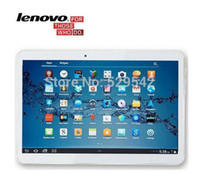 Wholesale 10 Inch Lenovo Tablets A101 MTK6582 Quad Core G RAM G ROM Dual SIM Card Android G tablet PC