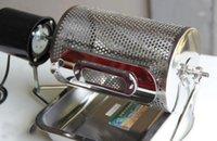 steel drums - Electric Stainless Steel Coffee Roaster Machine tool BBQ drum Stainless Steel Coffee Roaster Machine