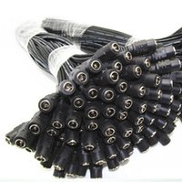Wholesale DC Power Lead Female pigtail for CCTV camera power DHL