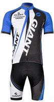 cycling jersey wholesale - Giant Cycling Jersey Cycling Short Sleeve clothes Bicycle Jersey Ropa Ciclismo Shorts Kit Summer Cycling Clothing