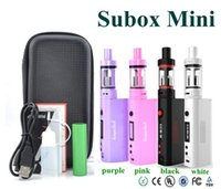 battery pack design - New Designed Kanger Subox Mini Starter Kit in ZIPPER Pack with kanger kbox mini w and subtank mini v2 battery