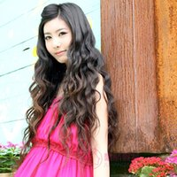 Wholesale Beauty Clips Clip in on Wavy Curl Hairpieces Slice Ponytail Hair Extension