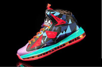 abrasion resistant rubber - 2014 Hot LBJ MVP X Basketball Shoes Original Quality Hot Sell James PS Elite Athlenic Shoes Abrasion Resistant Sports Shoes Men
