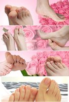bamboo beauty products - 10pair Magic Milk bamboo vinegar foot mask ExfoliatingTendering feet mask sox remove dead skin as beauty foot care product