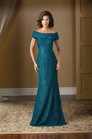 sequin elastic - Custom Made Sheath Mother Of Bride Dress Off the shoulder Floor Length Sequins Elastic Satin Plus Size