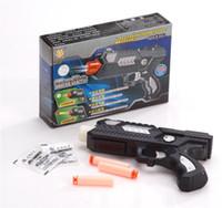 Wholesale Paintball Gun Pistol Soft Bullet Gun Plastic Toys CS Game Shooting Water Crystal Gun Nerf Air Soft Gun Airgun Yellow Green Red