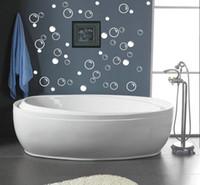 bathroom tile decals - waterproof bathroom tile stickers Soap Bubbles bathroom decor wall quote art vinyl decal sticker