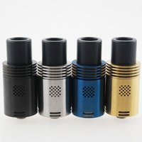 Replaceable 4.5ml Metal Mutation X V4 Atomizer 510 Vaporizer E Cigarette Yep V1 RDA Atomizer Wide Bore Drip Tips 22mm floating pin fit all Mechanical Mods DHL free