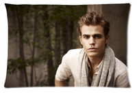 Wholesale Special Offer Seconds Kill Home Dakimakura Pillowcase Good Paul Wesley Zippered Pillow Case Cover Cushion x30 two Sides
